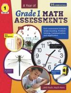 A Year of Canadian Grade 1 Math Assessment (enhanced ebook)