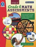 A Year of Canadian Grade 4 Math Assessment (enhanced ebook)