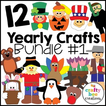 """""""A Year of Cut and Paste Projects"""" Bundle"""
