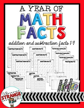 A Year of: Math Facts