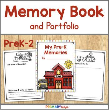 Memory Book and Portfolio (Preschool, Kindergarten, 1st &