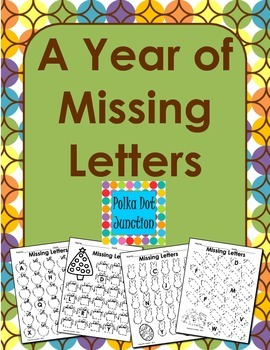 A Year of Missing Letters
