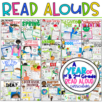 A Year of Read-Aloud Lessons and Activities