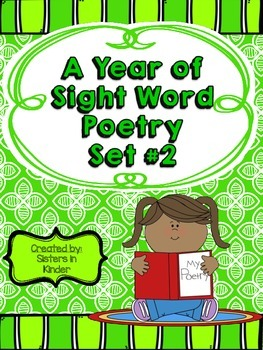 A Year of Sight Word Poetry: Set #2