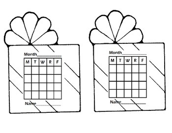 A Year of Sticker Charts- Behavior