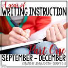 A Year of Writing Instruction - Part One (September-December)