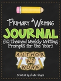 A Year of Writing Journals {40 Themed Writing Prompts for