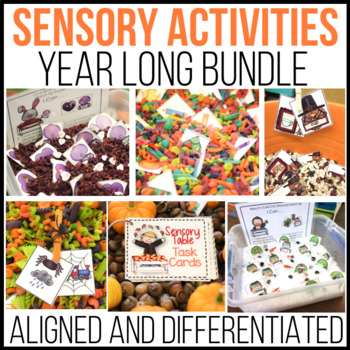 A Year's Worth of  Sensory Table - Sensory Bin Fun: Activi