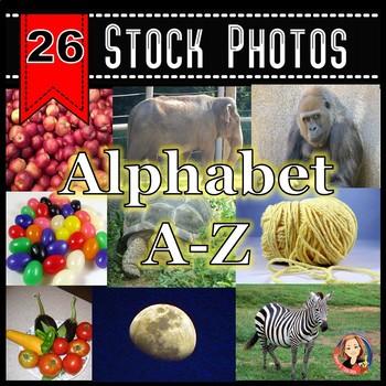 A-Z Alphabet Stock Photos - Photos for Each Letter of the
