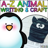 A-Z Animal Craftivities and Writing Prompts {5 crafts and