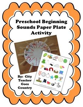 A-Z Beginning Sounds PreSchool Activity - FREE