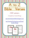 A-Z Bible Verses - New International Version