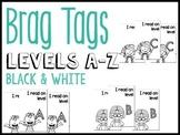 A-Z Black & White Brag Tags