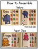 A-Z Color Alphabet Adapted Book