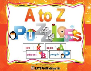 A-Z FUN LETTER PUZZLES