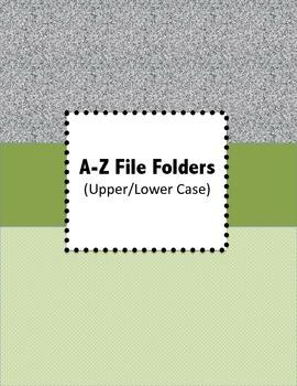 A-Z File Folders
