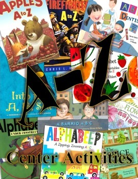 A-Z Informational Books Center Activities