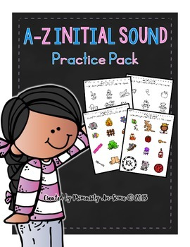 A-Z Initial Sounds Practice Packet