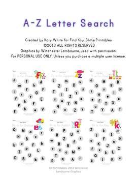 A-Z Letter Serach