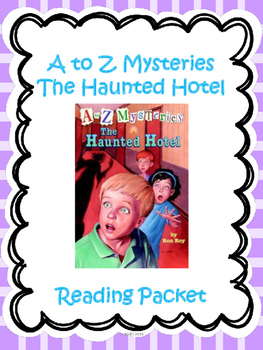 A-Z Mysteries The Haunted Hotel