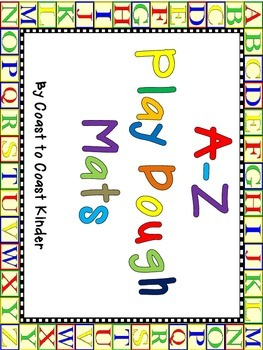 A-Z Play Dough Mats for Beginning  Sounds