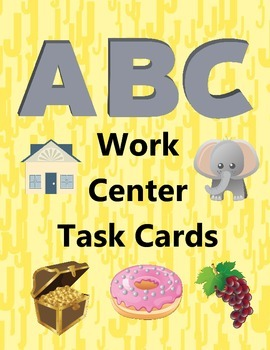 A-Z Work Center Task Cards