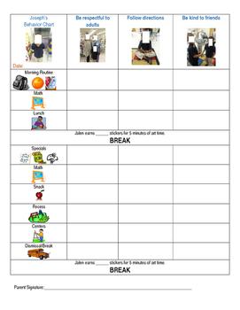 A behavior chart that works!!!