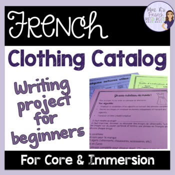 A French clothing catalog project