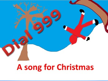 A funny song for the  Christmas concert with instrumental parts