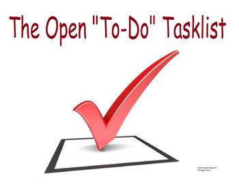 "A handy time management ""Open Tasklist""/To-do list"