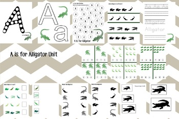 A is for Alligator Unit