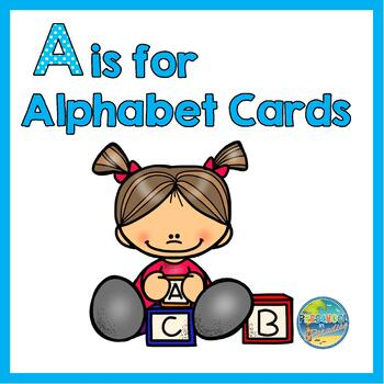 A is for Alphabet Cards