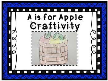A is for Apple Phonics Craftivity