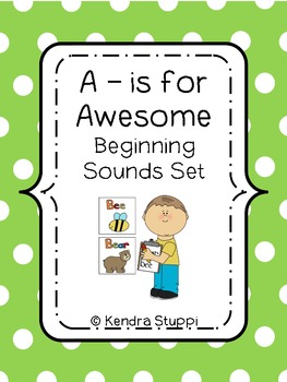 A is for Awesome - Beginning Sounds