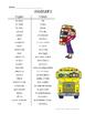 À l'école: School-themed beginner French vocabulary activi