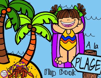 À la plage - Flip Book