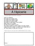 A l'epicerie (Lecture guidée, Compréhension de texte, éval