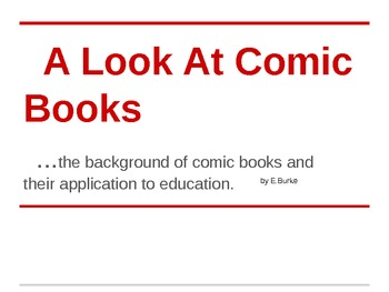 A look At Comic Books