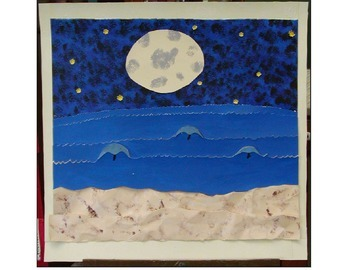 A moment in time paper quilt