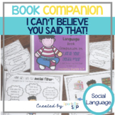 A pragmatic language book companion for I Can't Believe Yo