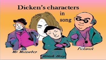 A song about the characters in the books of Charles Dickens