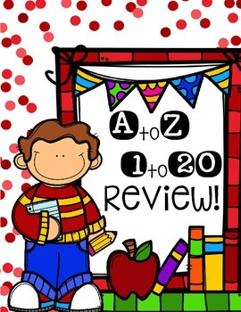 A to Z! 1 to 20 Review!