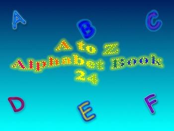 A to Z Alphabet Book 24