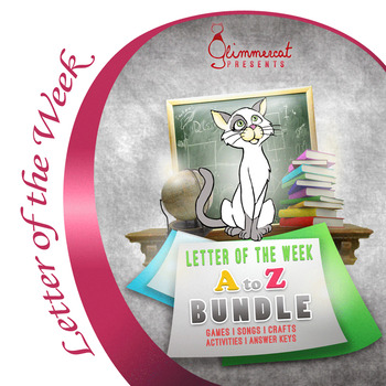 A to Z Bundle of our Letter of the Week Program