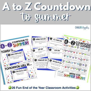 A to Z Countdown to Summer