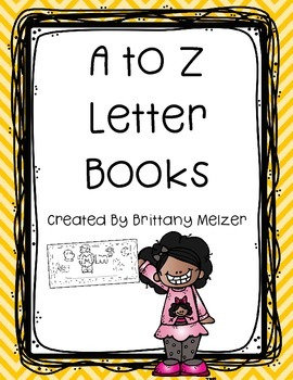 A to Z Letter Book Freebie