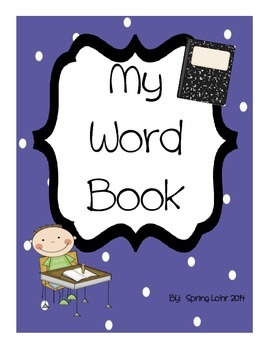 A to Z - My Word Book