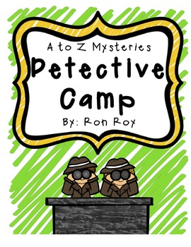 A to Z Mysteries Detective Camp