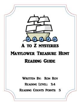 A to Z Mysteries:  Mayflower Treasure Hunt