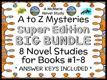 A to Z Mysteries Super Edition COLLECTION (Ron Roy) : 8 No